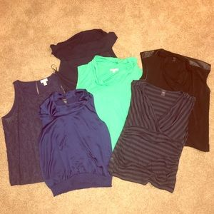 Lot of Ann Taylor tops size XL